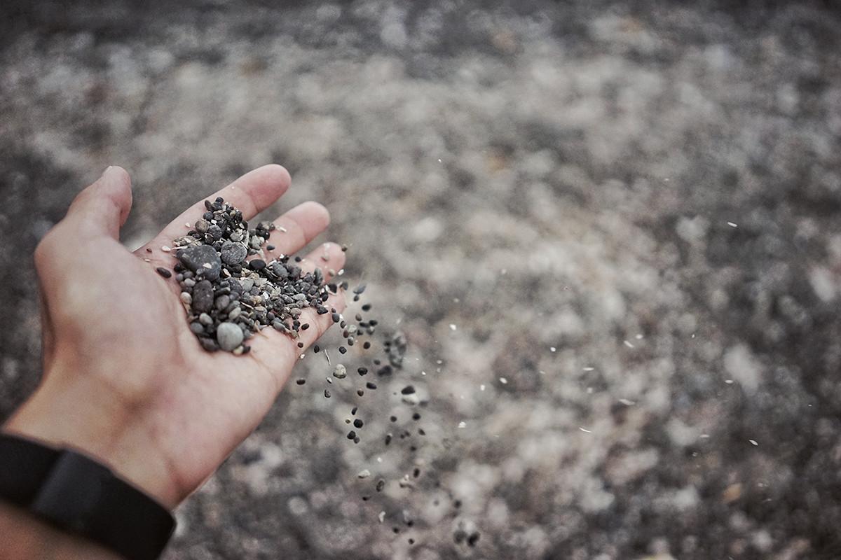Bilfrakt - Grus, sand och jord