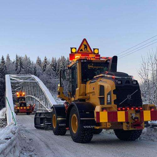 Snöröjning - boka din snöröjare hos Bilfrakt.se